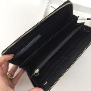 Calvin Klein Men's Black Leather Zip Around Wallet
